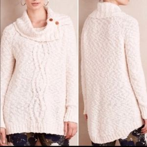 Moth Ivory Cowl Neck Sweater